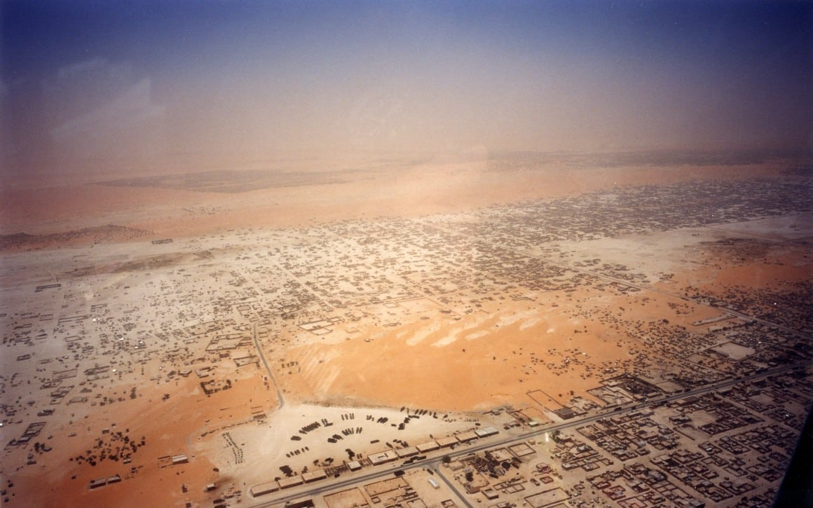 Nouakchott from the air