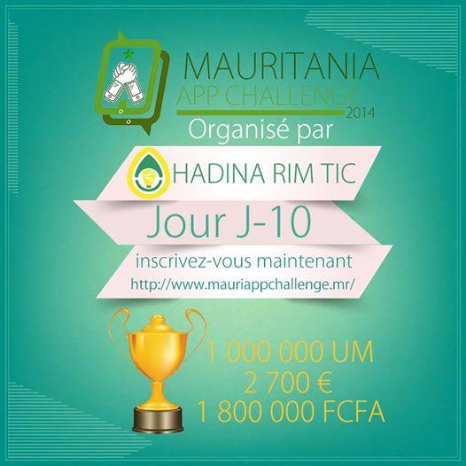 hadina rim tic mauriapp challenge